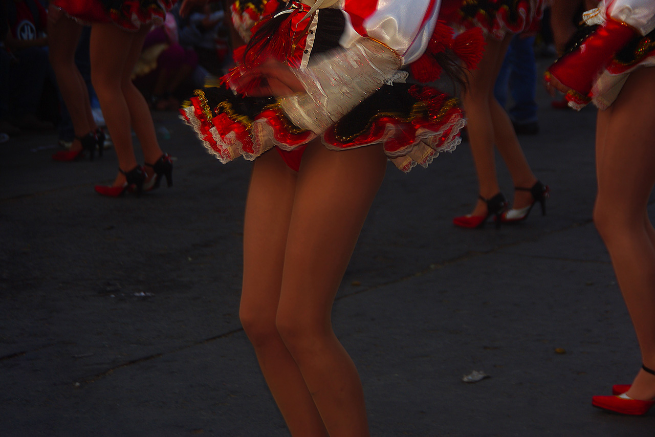 Danseuse bolivienne