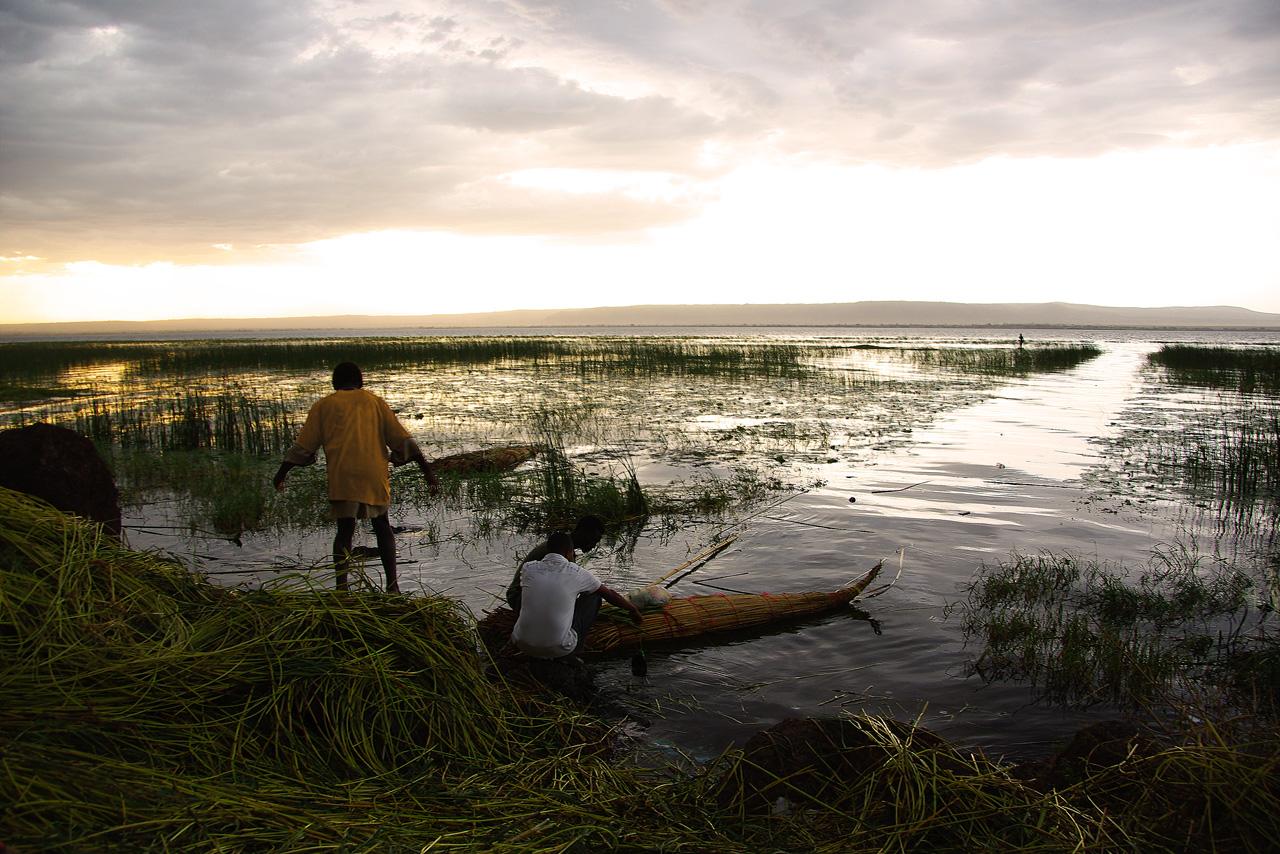 Pêcheurs éthiopiens