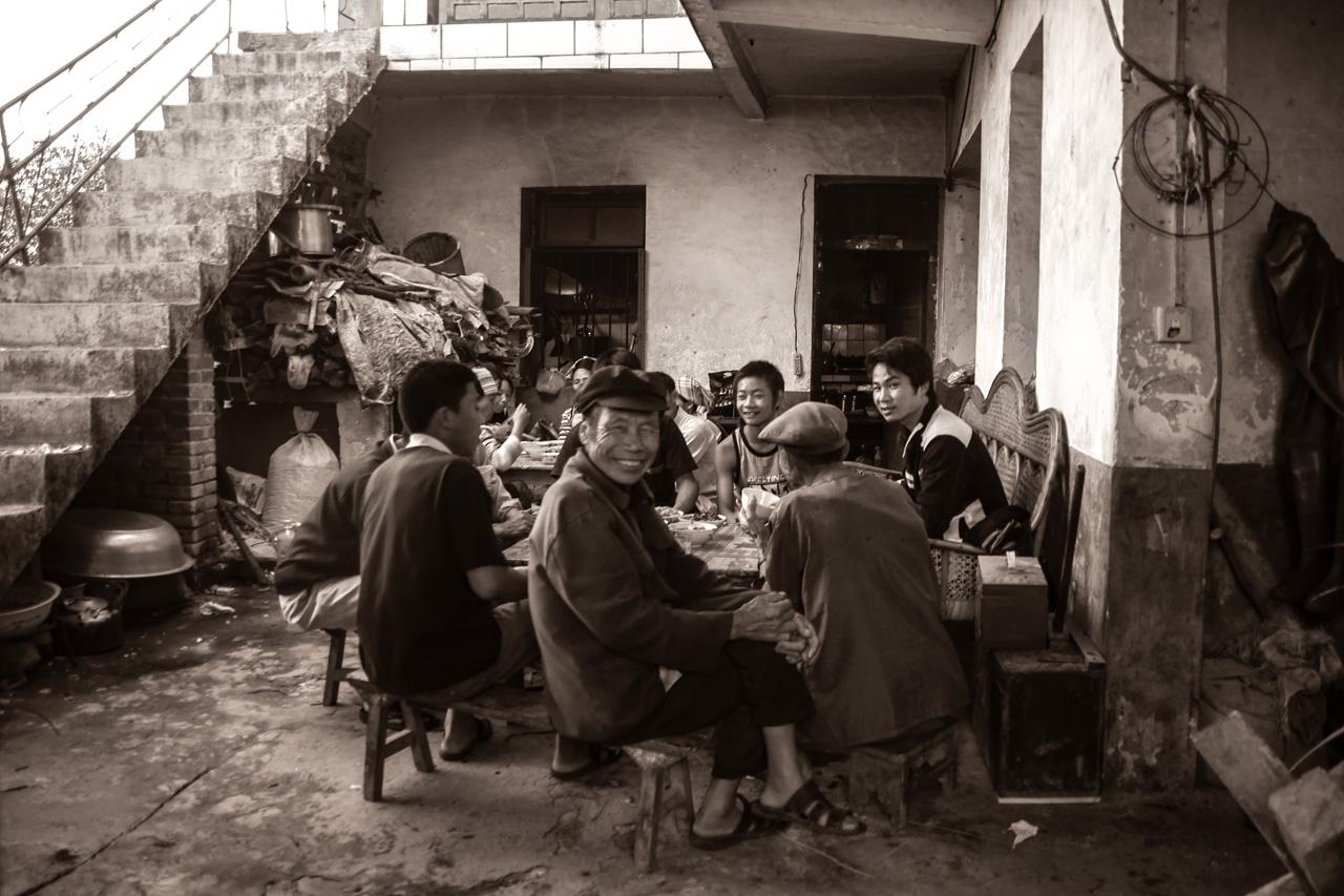 Déjeuner chez Chang