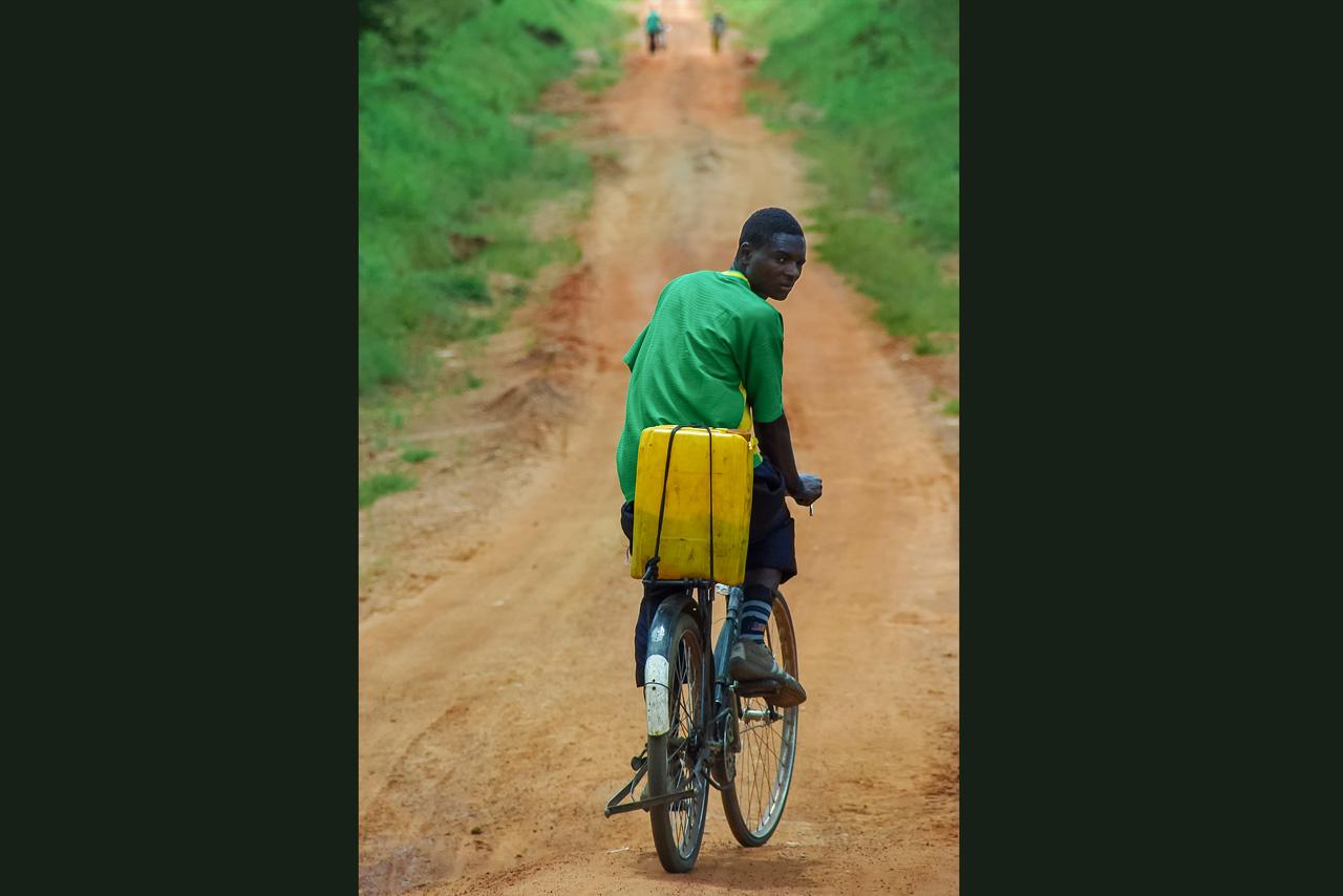 Vélo à essence